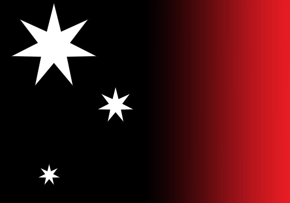 "Empire of Australia Flag - The ""Red Dawn"" Flag"